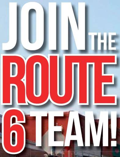 Join the US Route 6 Team