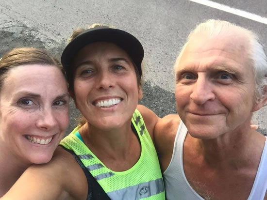 APRYLLE with Jill Tremback and Dane Groszek, President, Orange Runners Club of Middletown NY http://www.orangerunnersclub.org/