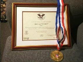President's Volunteer Service Award and Gold Medal