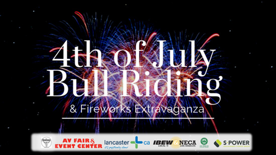 4th of July Bull Riding in Lancaster, CA