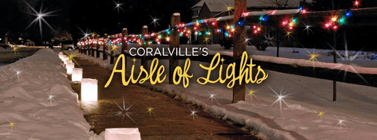 Coralville's Aisle of Lights